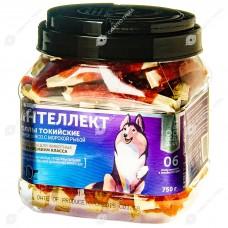 GreenQZin ИНТЕЛЛЕКТ лакомство для собак утиное мясо с морской рыбой