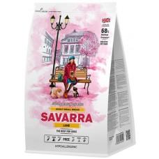 Savarra корм для взрослых собак мелких пород (ягненок/рис)