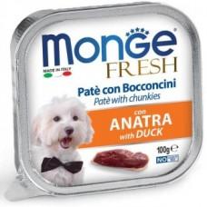 Monge Dog Fresh консервы для собак со вкусом утки