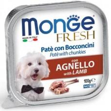 Monge Dog Fresh консервы для собак со вкусом ягненка