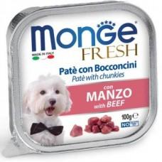 Monge Dog Fresh консервы для собак со вкусом говядины