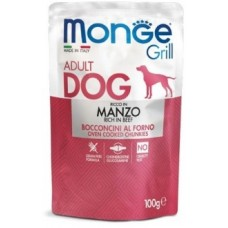 Monge Dog Grill Pouch паучи для собак со вкусом говядины