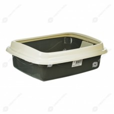 DOGMAN Туалет ТРИПЛЕКС с решеткой 34х44х15 см