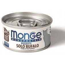 Monge Cat Monoprotein мясные хлопья из буйвола