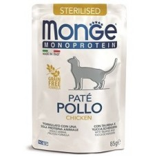 Monge Cat Monoprotein для стерилизованных кошек, консерва