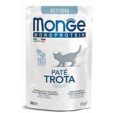 Monge Cat Monoprotein для котят, из форелиn консервы