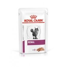 Royal Canin Renal Felin корм для кошек при патологии почек, паштет 85 гр