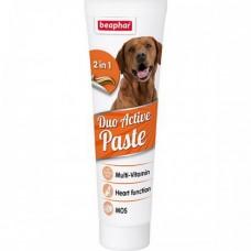 """Beaphar """"Duo Active"""" мультивитаминная паста для собак улучшает кишечную флору 100 гр"""