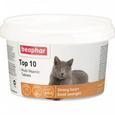 "Beaphar ""Top 10"" комплекс витаминов для кошек 180 таблеток"