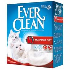 EVER CLEAN Наполнитель комкующийся для нескольких кошек с ароматом 10 кг
