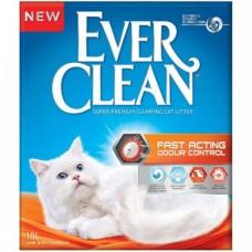 Ever Clean Fast Actingt Наполнитель комкующийся комкующийся бентонит свежесть 10 кг