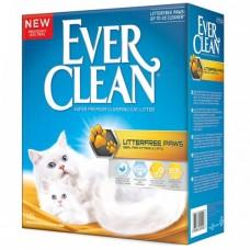 Ever Clean Litter free Paws комк наполнитель д/идеально чистых лап 10л