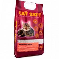 Cat safe наполнитель комкующийся для кошек 10 л