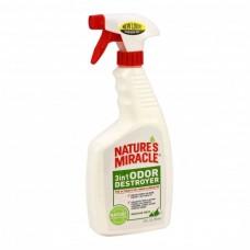 8 in1 Natures Miracle Спрей уничтожитель запахов 3 в 1 с ароматом горной свежести 709 мл