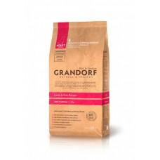 GRANDORF Lamb & Rice Medium Корм для собак средних пород, Ягнёнок с рисом