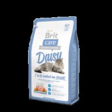 Brit Care Cat Daisy Гипоаллергенный корм для кошек склонных к полноте, Индейка/рис