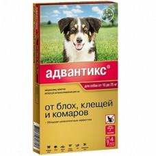 Bayer Адвантикс 250 С для собак 10-25 кг (4 пипетки х 2,5 мл)