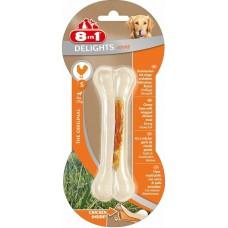 8in1 DELIGHTS Strong S косточка сверхпрочная с куриным мясом для мелких и средних собак 11 см