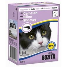 Bozita Feline консервы для кошек Креветки в соусе 370 гр