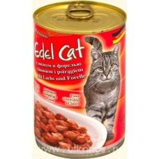 Edel Cat консервы для кошек лосось и форель 400 гр
