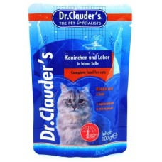 Dr. Clauder's - с кроликом и печенью в соусе 100 гр