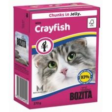 Bozita Feline консервы для кошек  кусочки Лангуста в желе 370 гр