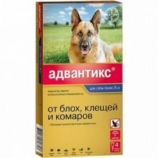 Bayer Адвантикс 400 С для собак 25-40 кг (4 пипетки х 4 мл)