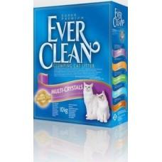 EVER CLEAN Multi Crystals Blendk Наполнитель комкующийся с добавлением кристаллов для максимального контроля запаха 10 кг