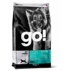 GO! Беззерновой для Щенков и собак - 4 вида мяса: Индейка, Курица, Лосось, Утка