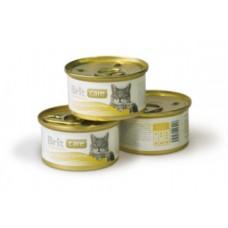Brit Care для взрослых кошек с куриная грудка и сыр 80 гр