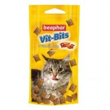Beaphar Vit Bits Лакомство для кошек с витаминной пастой 75 таблеток