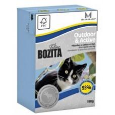 Bozita Feline мясо лося в желе для активных кошек 190 гр