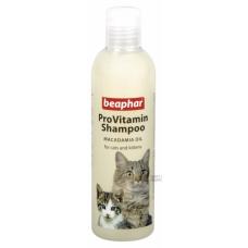 Beaphar Pro Vit Macadamia Oil` шампунь для кошек и котят с чувствительной кожей с маслом австралийского ореха 250мл