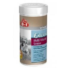 8in1 Excel Мультивитамины для пожилых собак 70 таб.