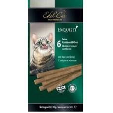 Edel Cat лакоство для кошек Колбаски заяц/печень 6 шт.