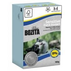 Bozita Feline Мясо лося в желе для кошек с чувствительным пищеварением 190 гр