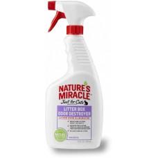 8in1 Natures Miracle Средство для устранения запаха кошачьего туалета 710 мл