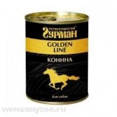Четвероногий Гурман Голден конина натуральная в желе