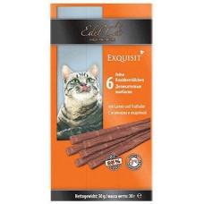 Edel Cat лакомства для кошек Колбаски ягненок и индейка 6 шт