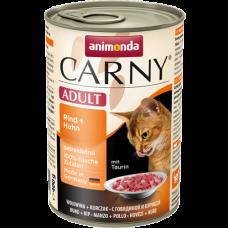 Animonda CARNY ADULT консерва для кошек Говядина/Курица 200 гр