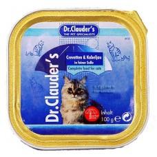 Dr. Clauder's - паштет с гусем и печенью 100 гр