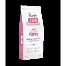Brit Care беззерновой корм для щенков с лососем и картофелем