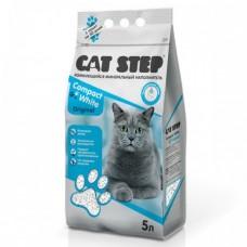 Cat Step Compact White Original наполнитель комкующийся, минеральный