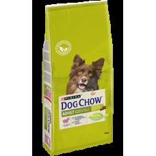 Dog Chow Adult корм для взрослых собак с ягненком в Новосибирске