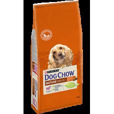 Dog Chow Mature для взрослых собак старшего возраста, с ягненком 5+ лет