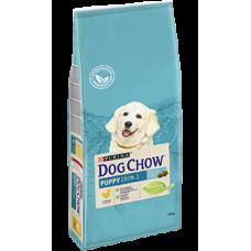 Dog Chow Puppy корм для щенков до 1 года с курицей