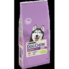 Dog Chow Senior корм для пожилых собак, с ягненком 9+ лет