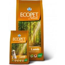 Ecopet Natural Lamb корм для взрослых собак с ягненком