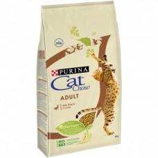 CAT CHOW Корм для взрослых кошек с мясом утки15 кг