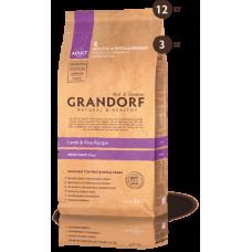 GRANDORF Maxi сухой корм для собак крупных пород с  ягненком